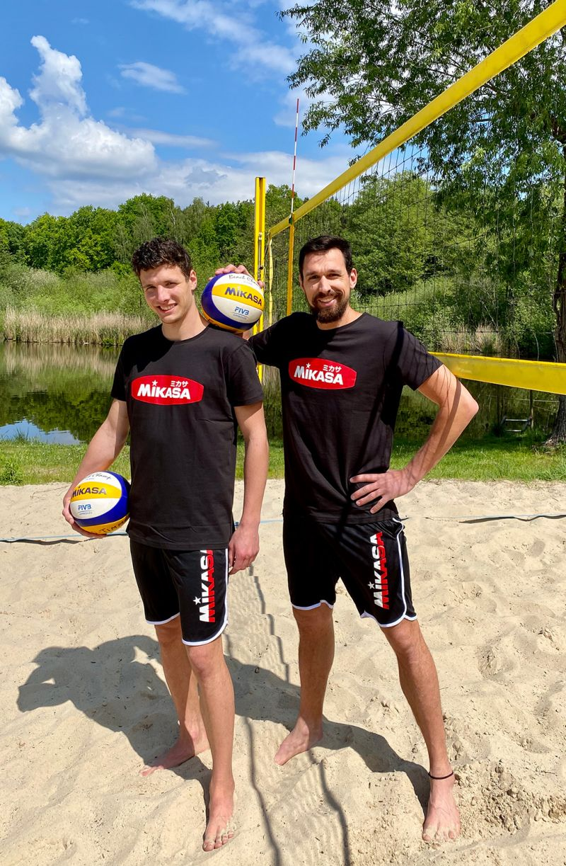 Beachvolleyball Team Erdmann/Timmermann (Foto: Jonathan Erdmann)